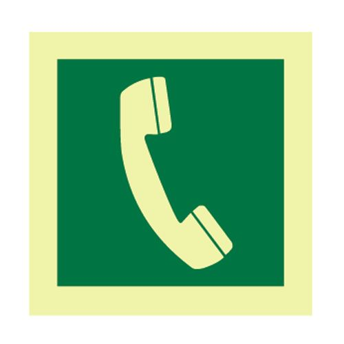 Emergency Telephone Symbol First Aid Safe Condition Health