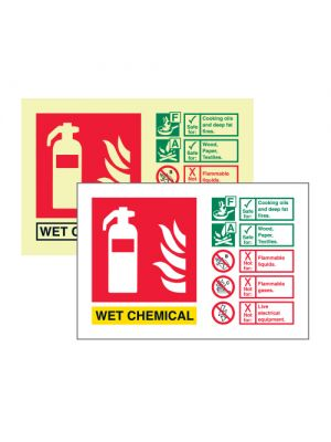 Wet Chemical extinguisher ID